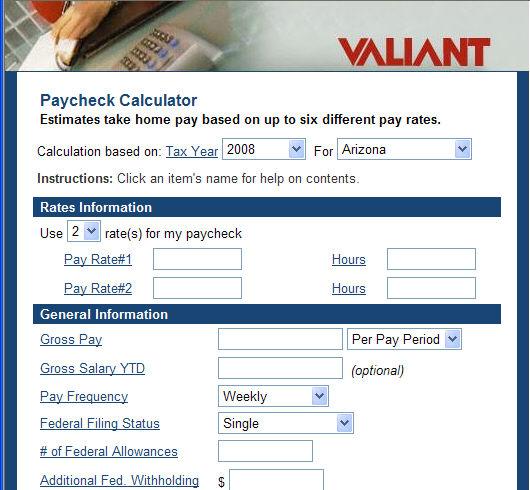 Net Pay Calc